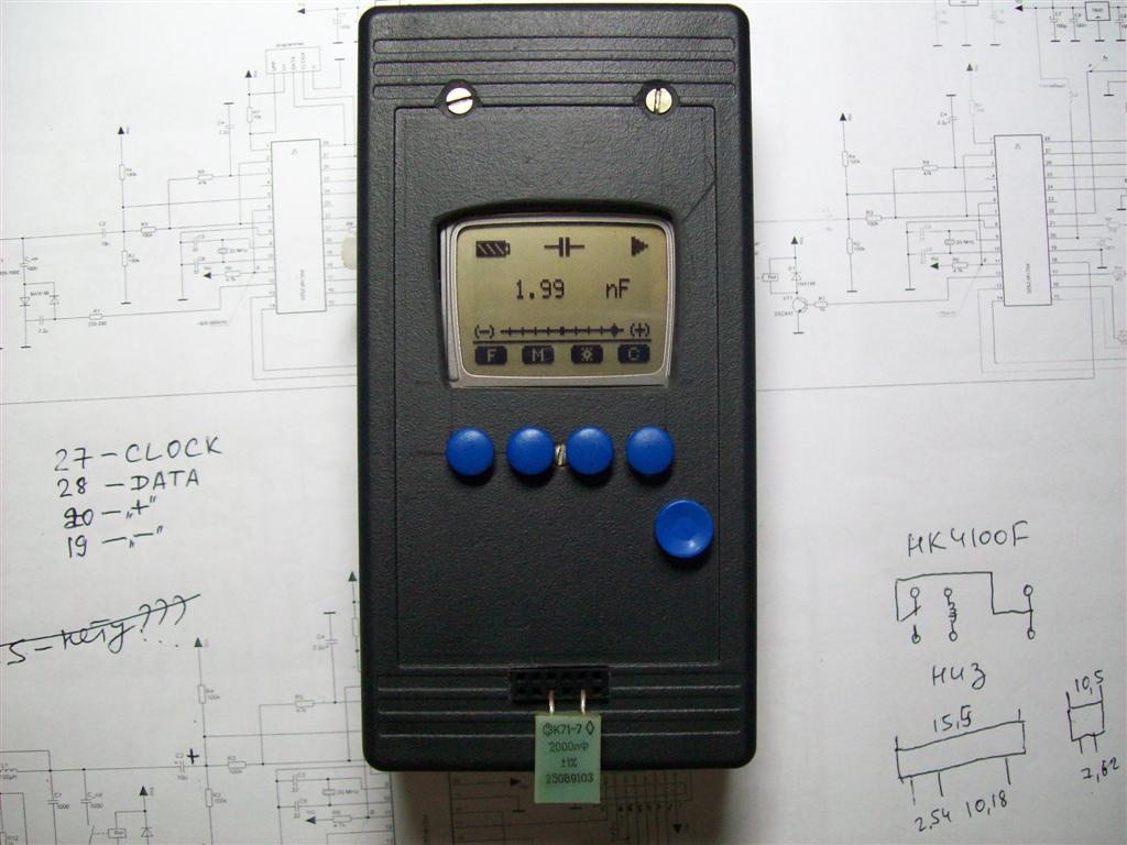 LC-meter pic18f2520 & LCD 3310 - 18 Мая 2011 - Персональный сайт
